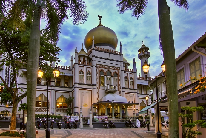 The Sultan Mosque at Kampong Glam Singapore