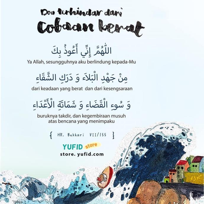 doa berlindung dari bencana